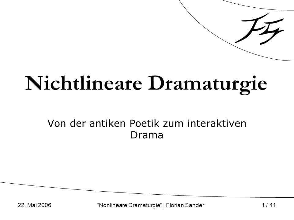 Nichtlineare Dramaturgie