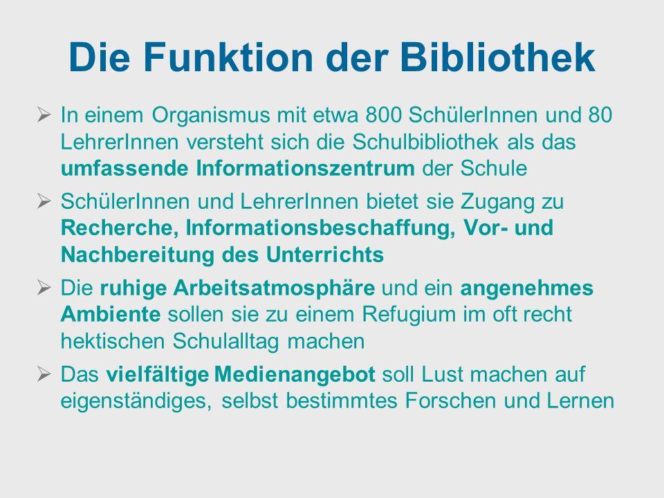 Die Funktion der Bibliothek