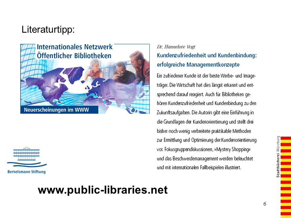 Literaturtipp: www.public-libraries.net