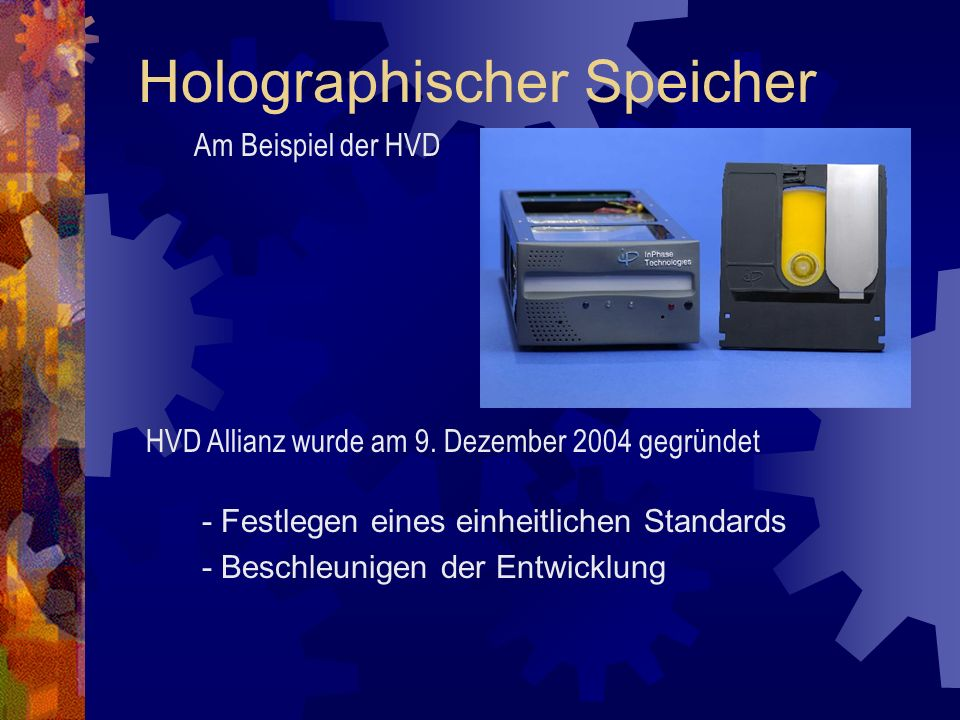 Holographischer Speicher