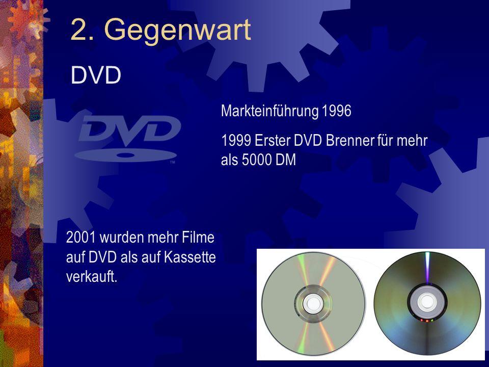 2. Gegenwart DVD Markteinführung 1996