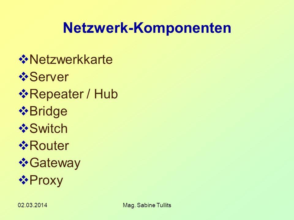 Netzwerk-Komponenten