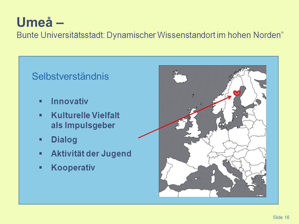 Umeå – Bunte Universitätsstadt: Dynamischer Wissenstandort im hohen Norden