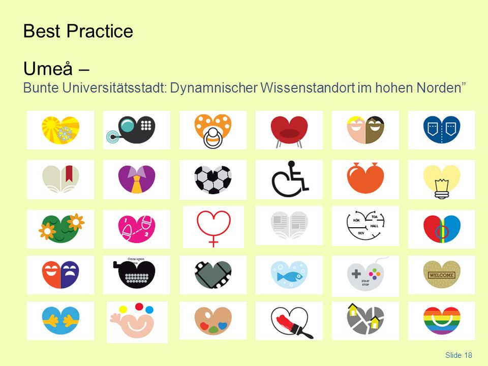 Best Practice Umeå – Bunte Universitätsstadt: Dynamnischer Wissenstandort im hohen Norden