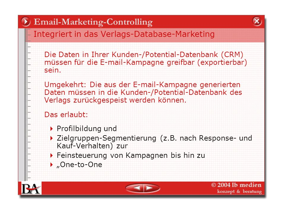 Email-Marketing-Controlling
