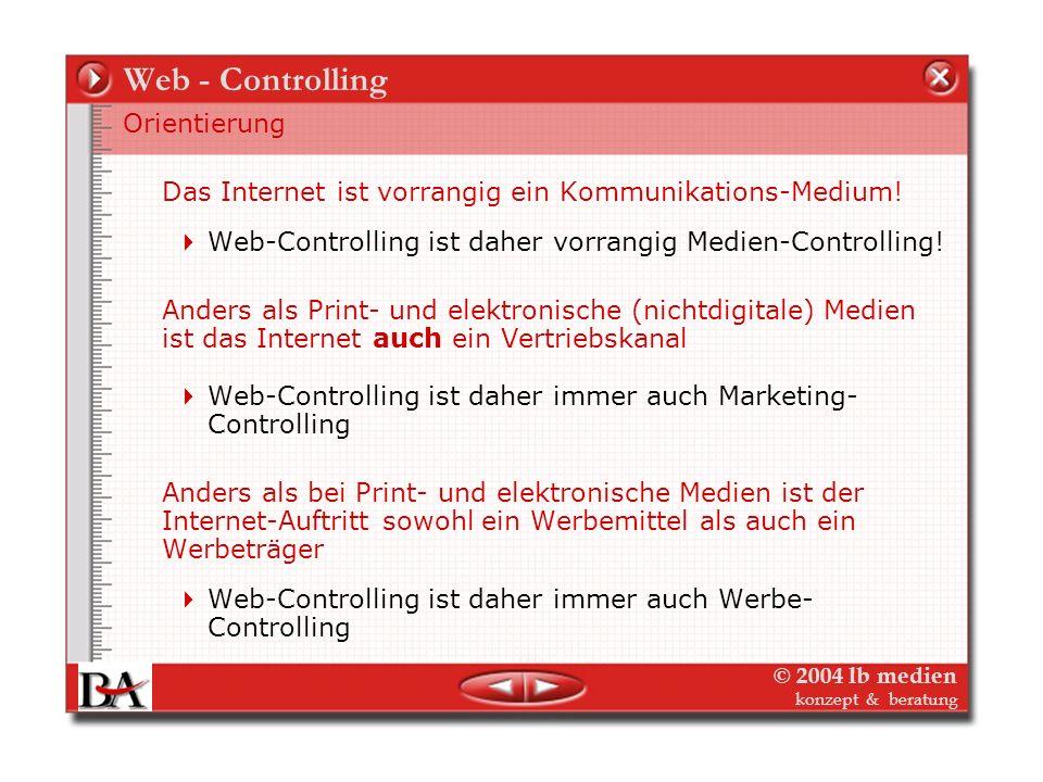 Web - Controlling Orientierung