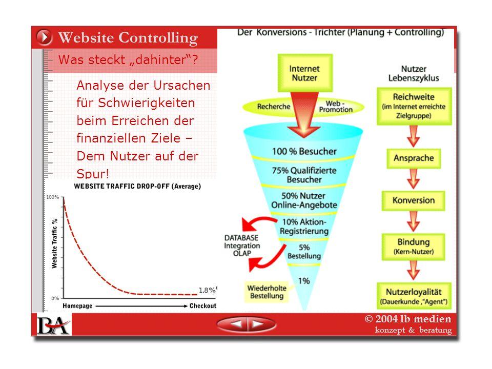 """Website Controlling Was steckt """"dahinter Analyse der Ursachen"""