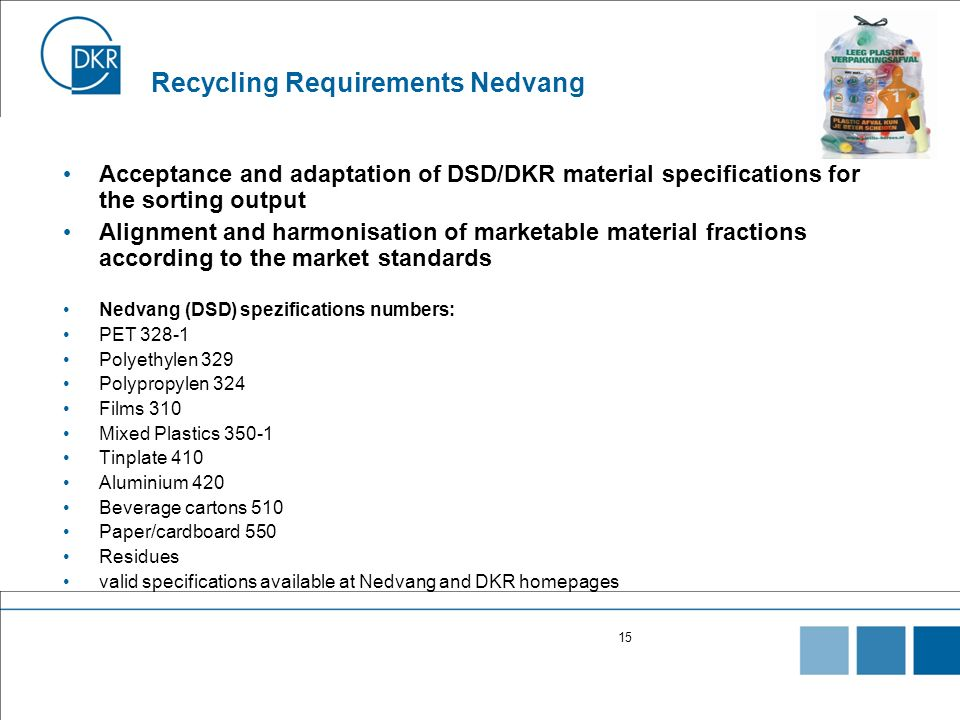 Recycling Requirements Nedvang