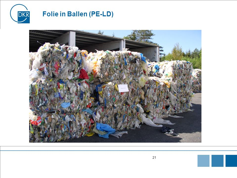 Folie in Ballen (PE-LD)
