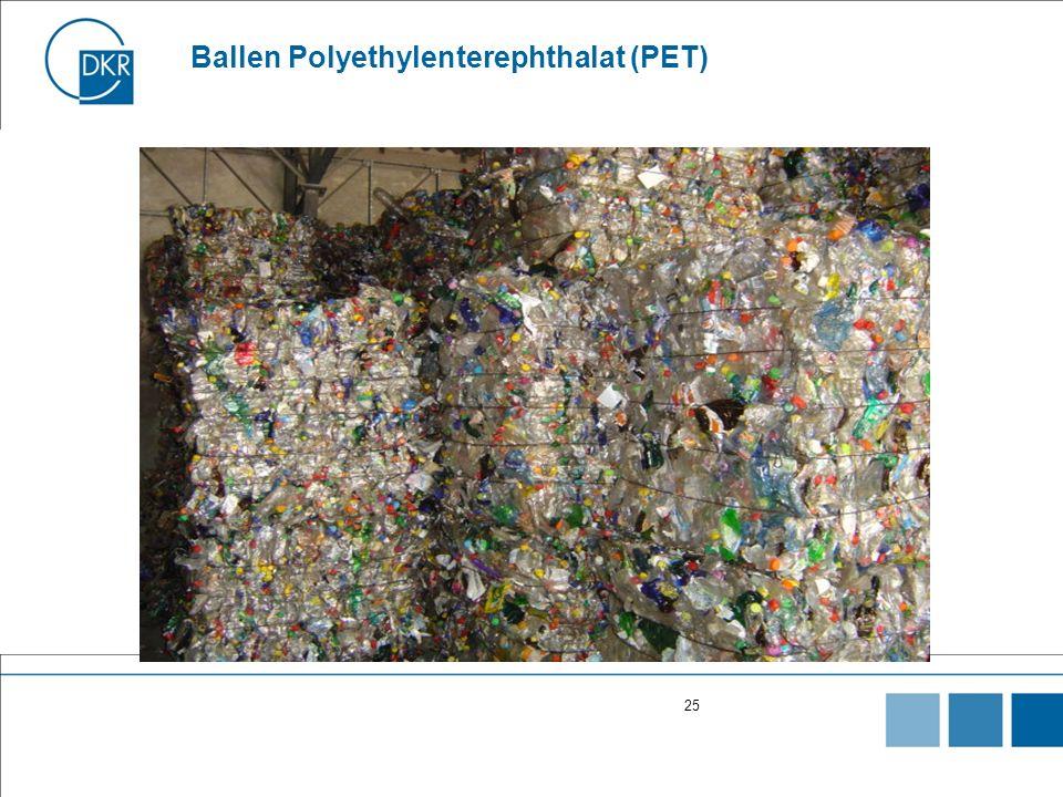 Ballen Polyethylenterephthalat (PET)