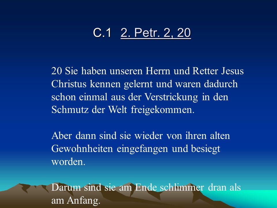 C.1 2. Petr. 2, 20