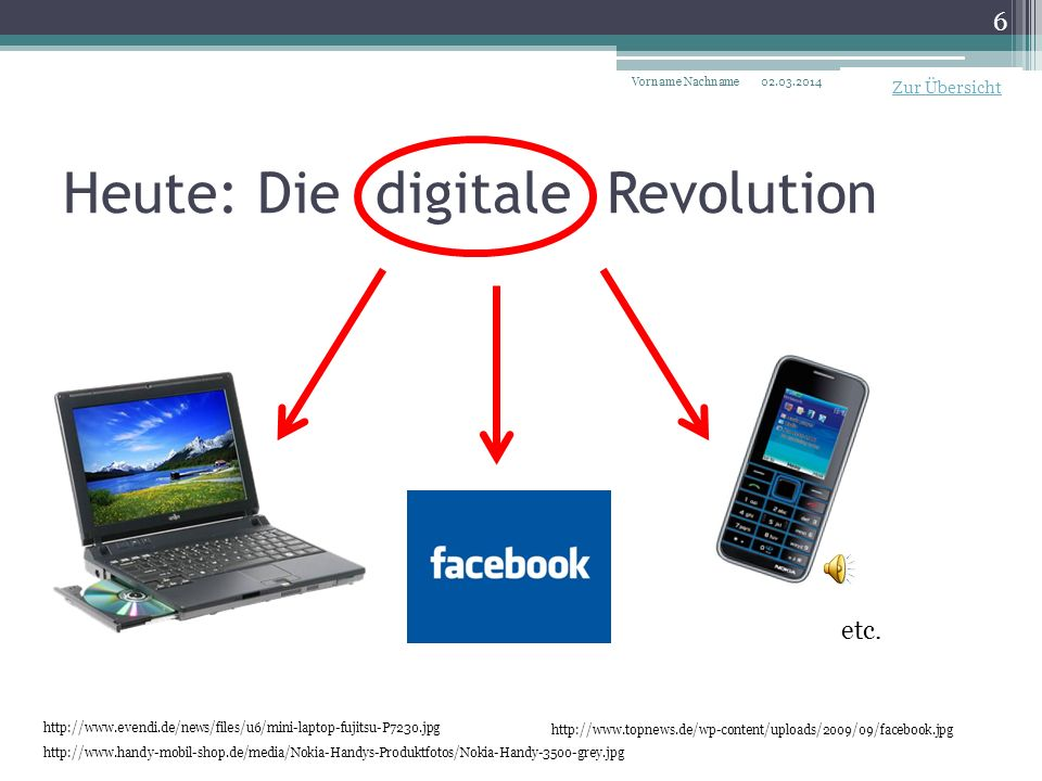 Heute: Die digitale Revolution