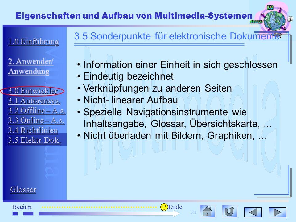 3.5 Sonderpunkte für elektronische Dokumente