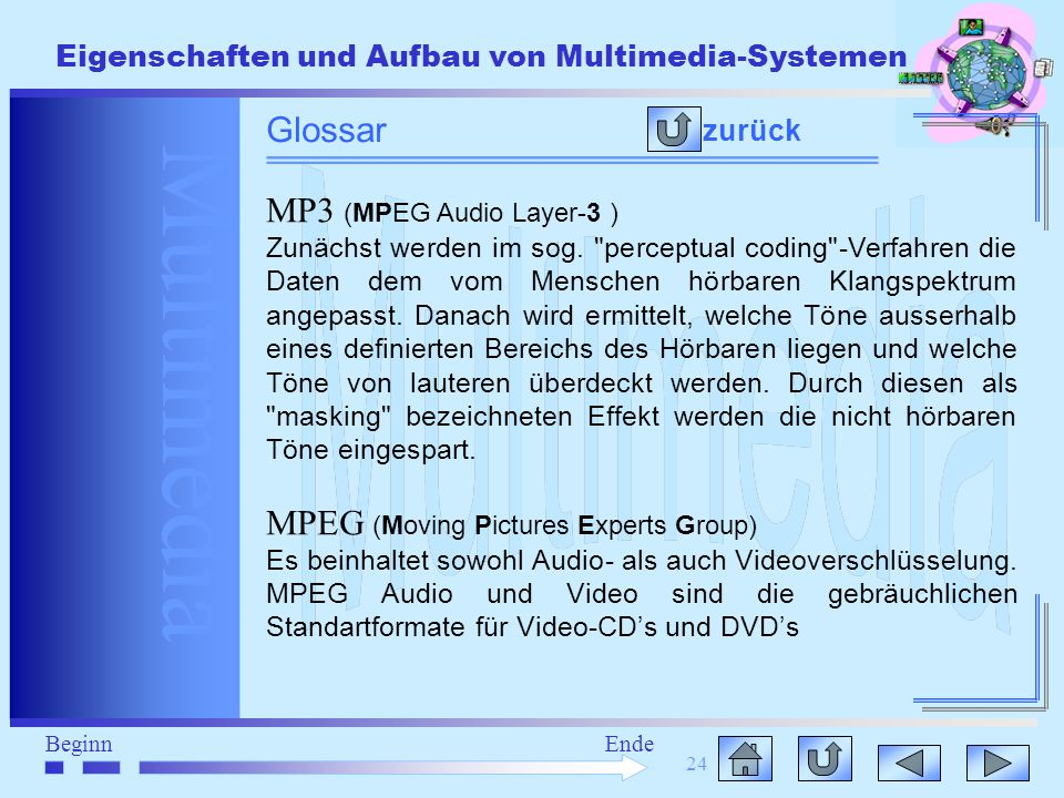 MPEG (Moving Pictures Experts Group)