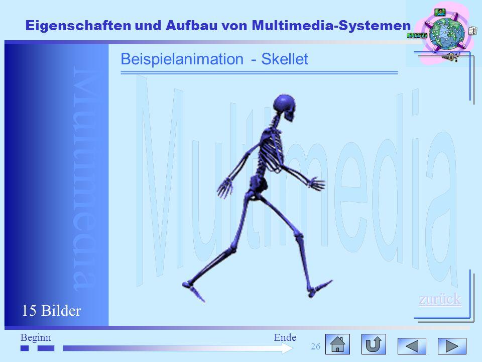 Beispielanimation - Skellet