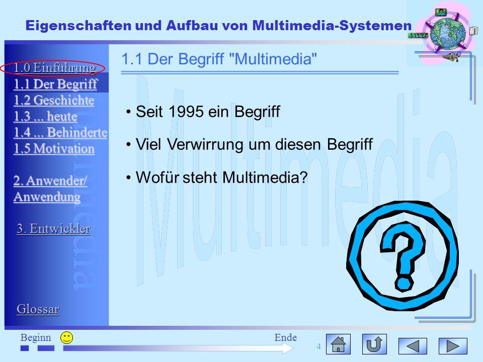 1.1 Der Begriff Multimedia