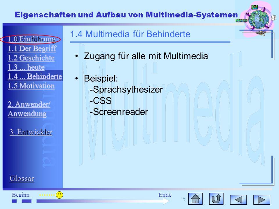 1.4 Multimedia für Behinderte