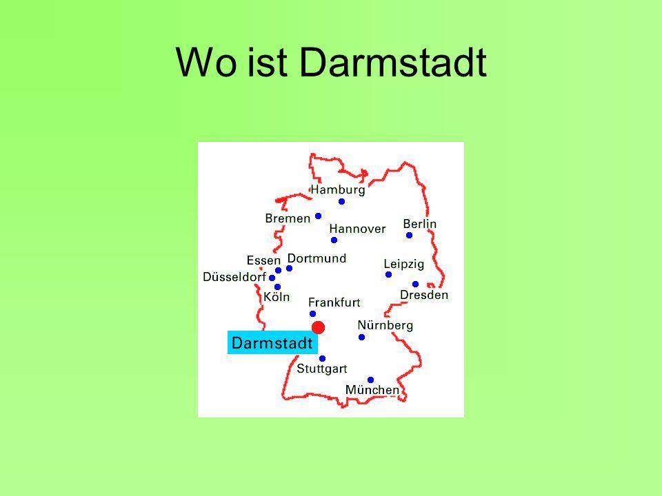 Wo ist Darmstadt