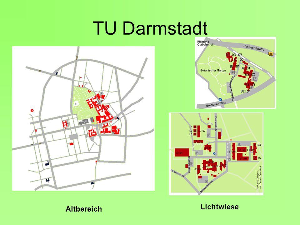 TU Darmstadt Lichtwiese Altbereich