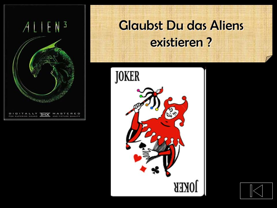 Glaubst Du das Aliens existieren