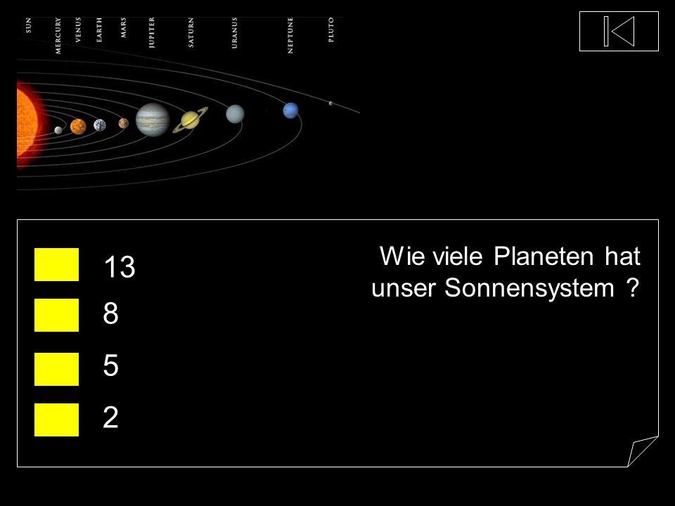 Wie viele Planeten hat unser Sonnensystem