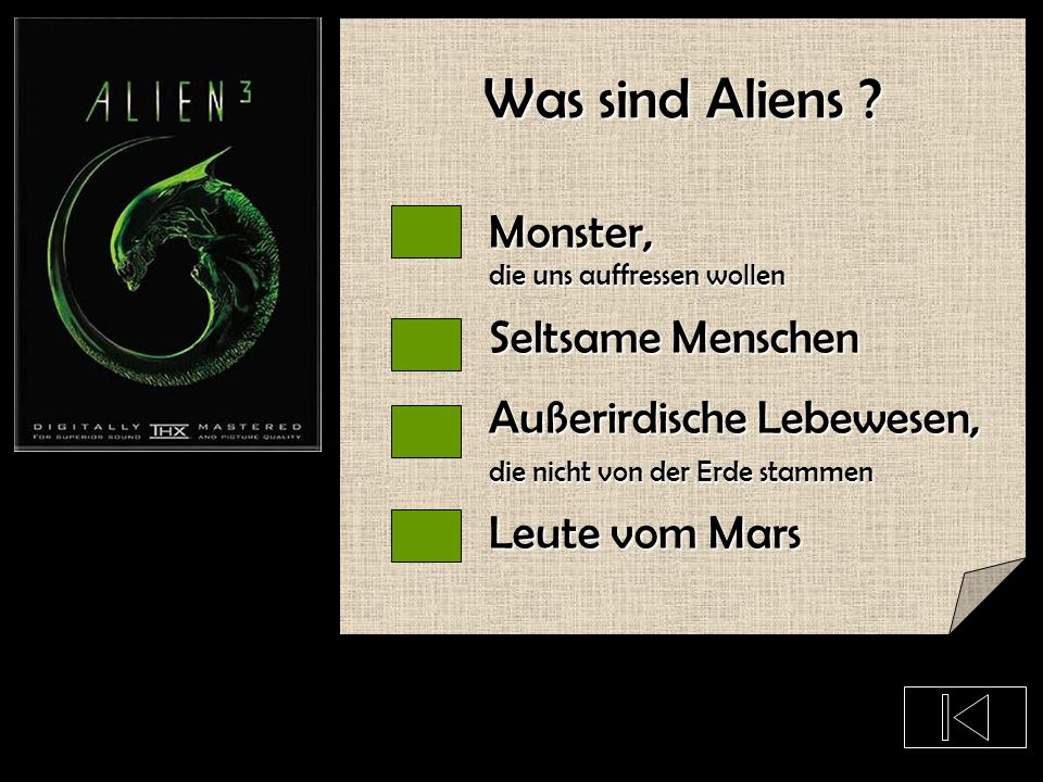 Was sind Aliens Monster, Seltsame Menschen Außerirdische Lebewesen,