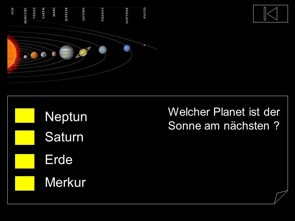 Welcher Planet ist der Sonne am nächsten