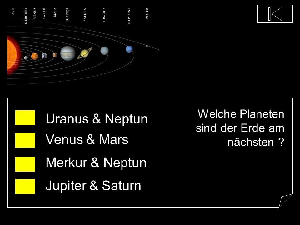 Uranus & Neptun Venus & Mars Merkur & Neptun Jupiter & Saturn