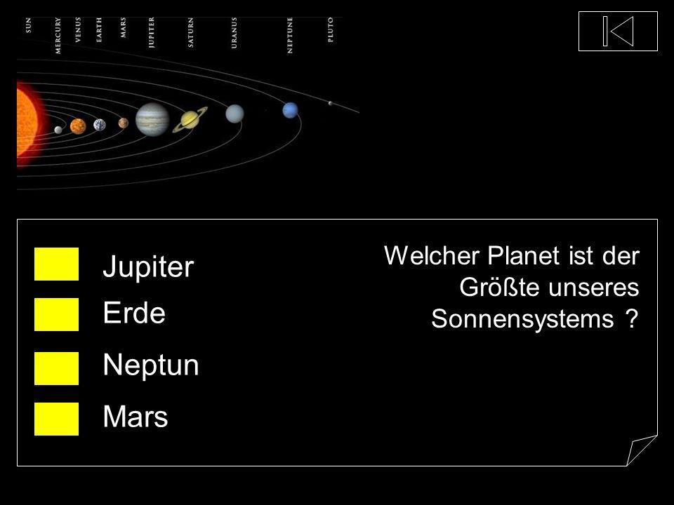 Jupiter Erde Neptun Mars
