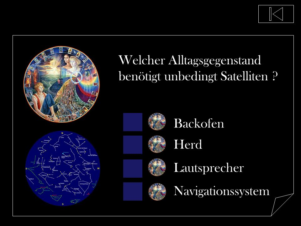 Welcher Alltagsgegenstand benötigt unbedingt Satelliten
