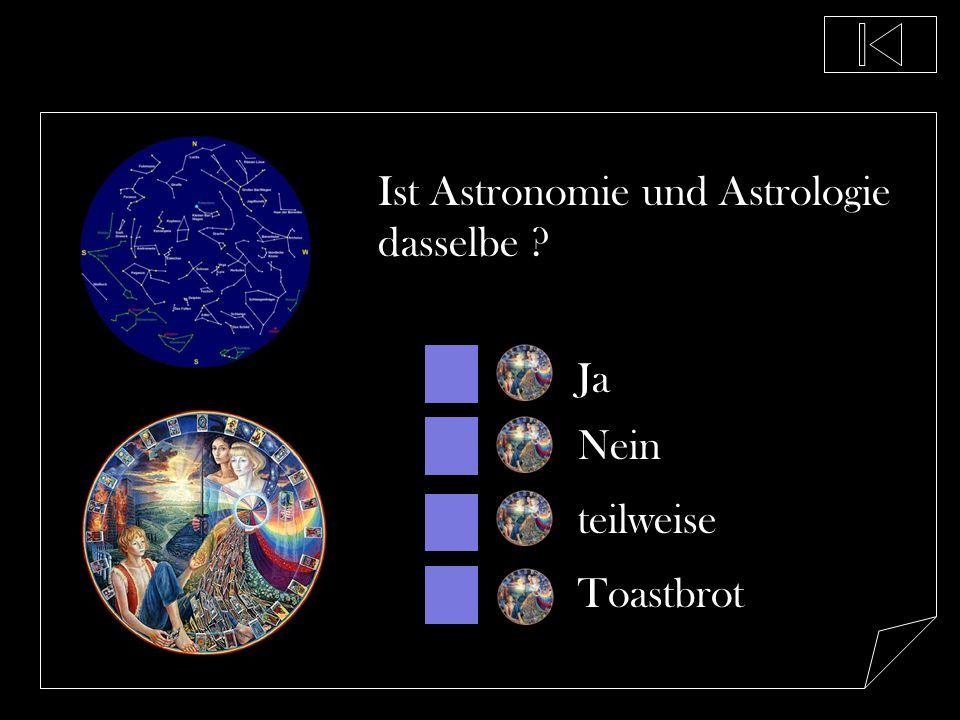 Ist Astronomie und Astrologie dasselbe