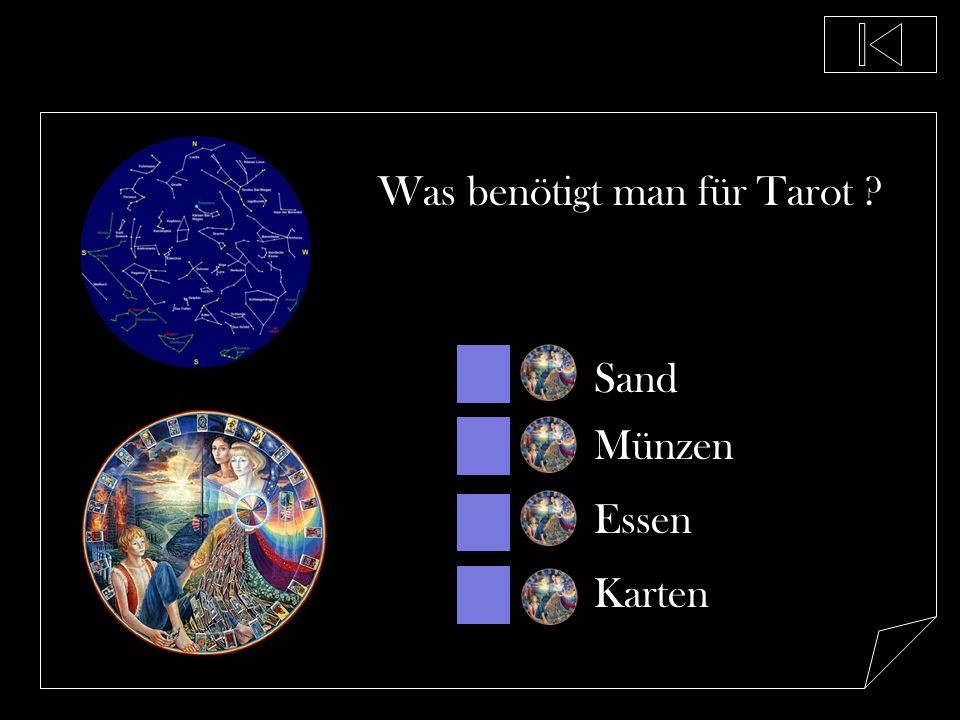Was benötigt man für Tarot