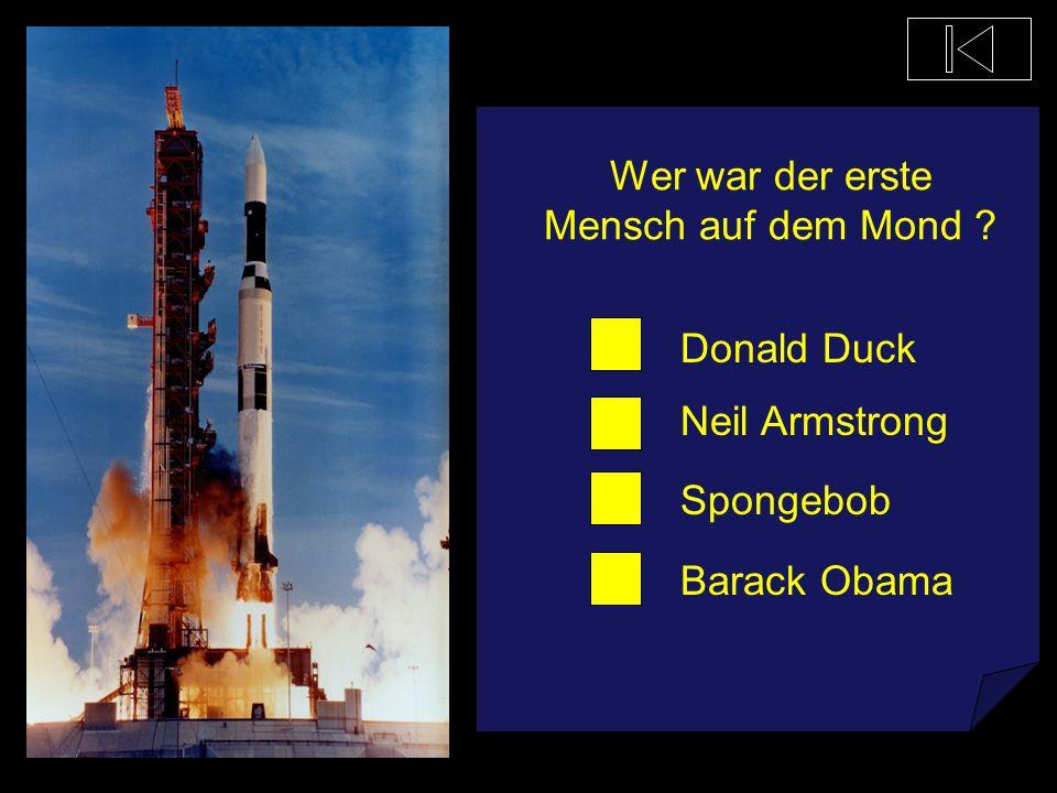 Wer war der erste Mensch auf dem Mond