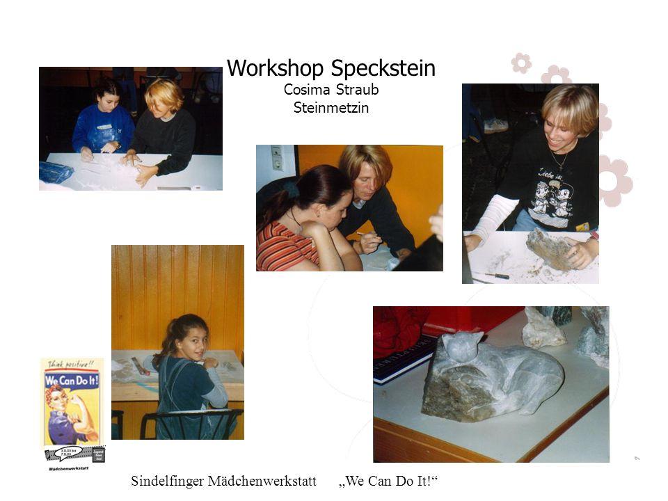 Workshop Speckstein Cosima Straub Steinmetzin