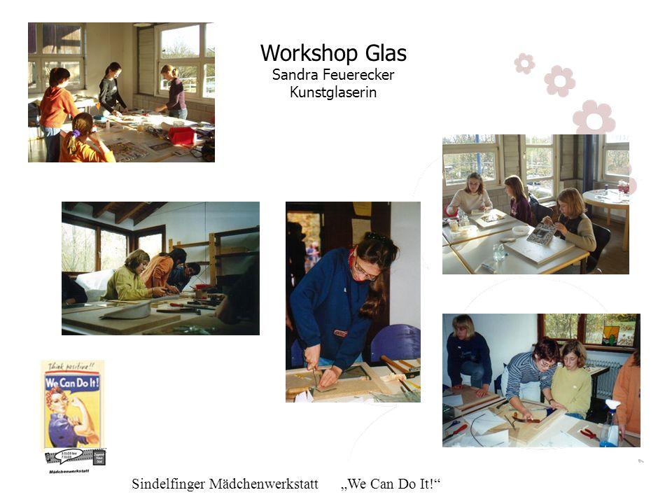 Workshop Glas Sandra Feuerecker Kunstglaserin