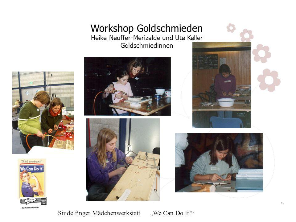 Workshop Goldschmieden