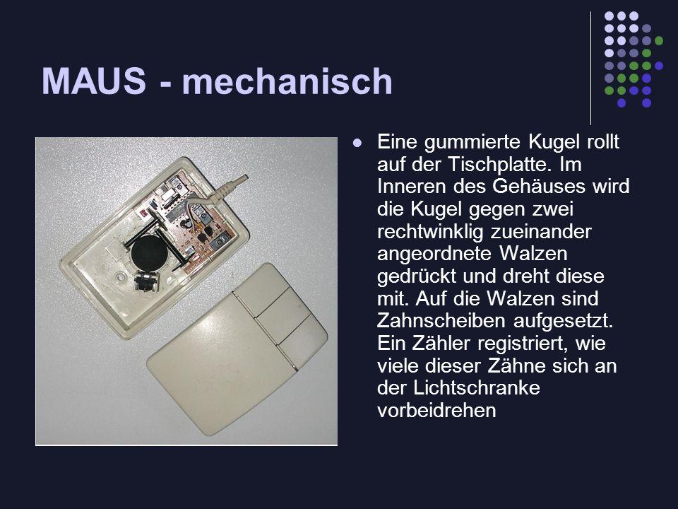 MAUS - mechanisch