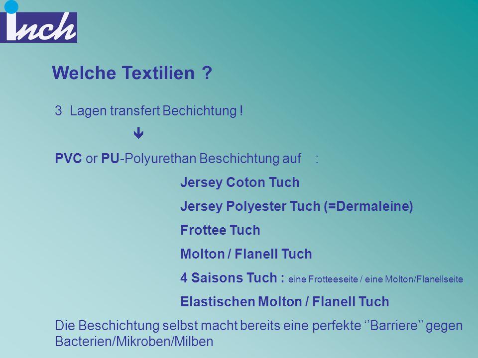 Welche Textilien 3 Lagen transfert Bechichtung ! 
