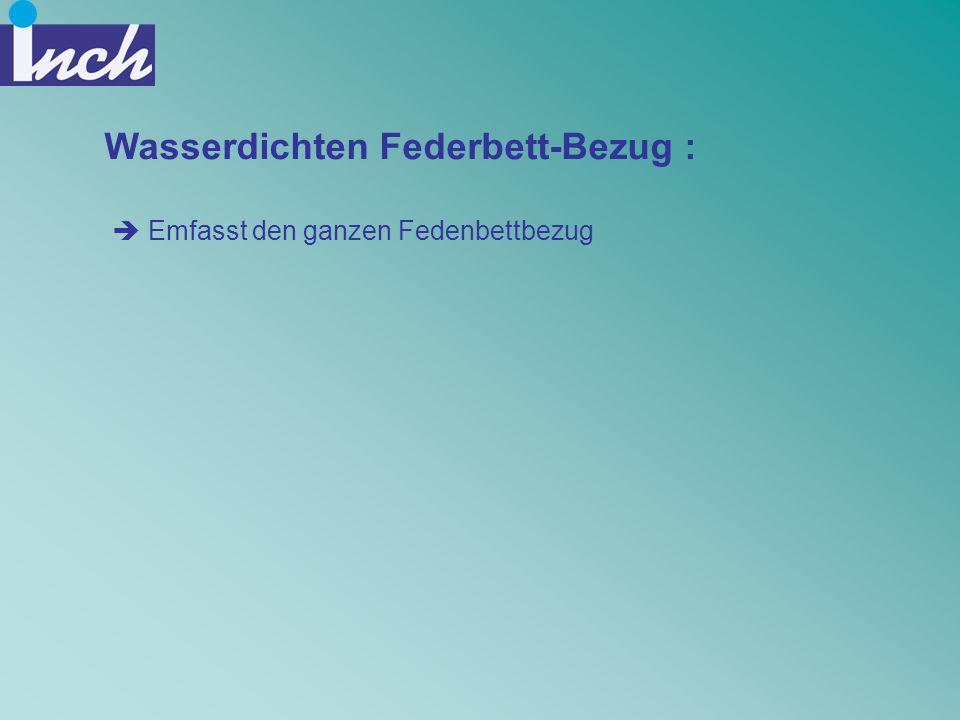 Wasserdichten Federbett-Bezug :