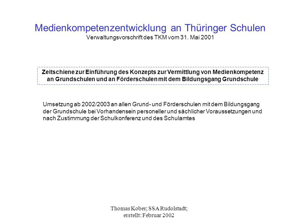 Thomas Kober; SSA Rudolstadt; erstellt: Februar 2002