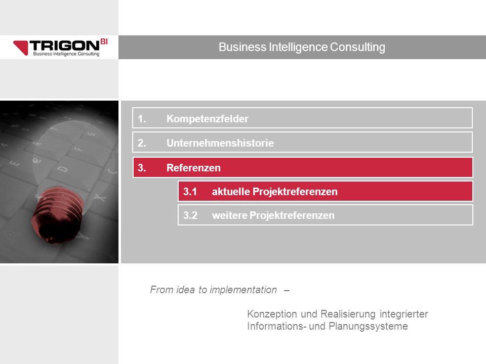 1. Kompetenzfelder 2. Unternehmenshistorie. 3. Referenzen.