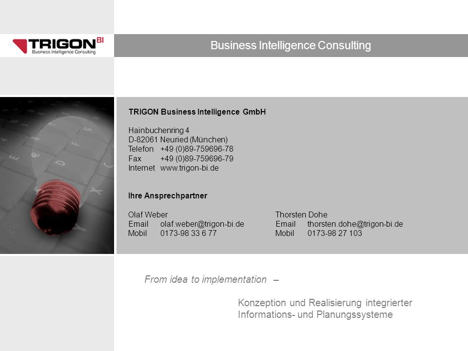 TRIGON Business Intelligence GmbH