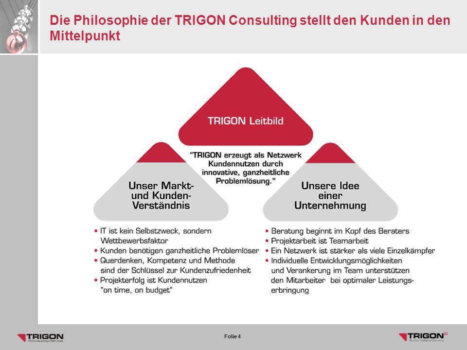 Die Philosophie der TRIGON Consulting stellt den Kunden in den Mittelpunkt
