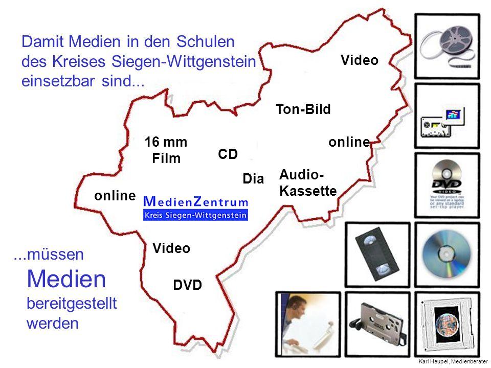 Damit Medien in den Schulen des Kreises Siegen-Wittgenstein