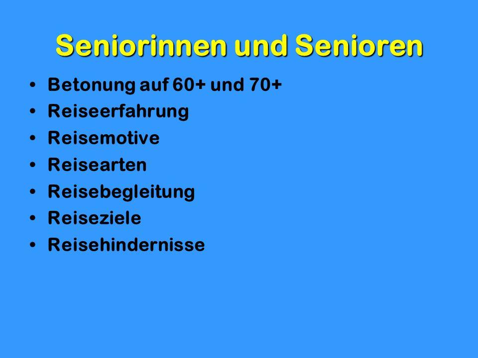 Seniorinnen und Senioren