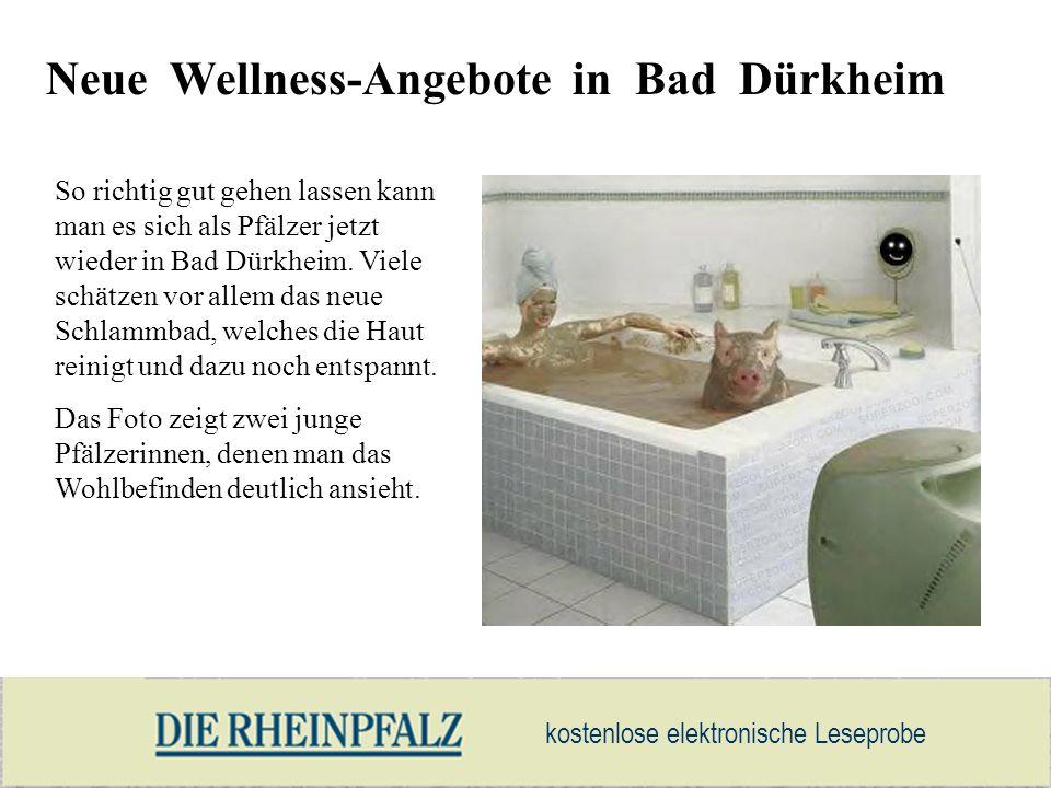 Neue Wellness-Angebote in Bad Dürkheim
