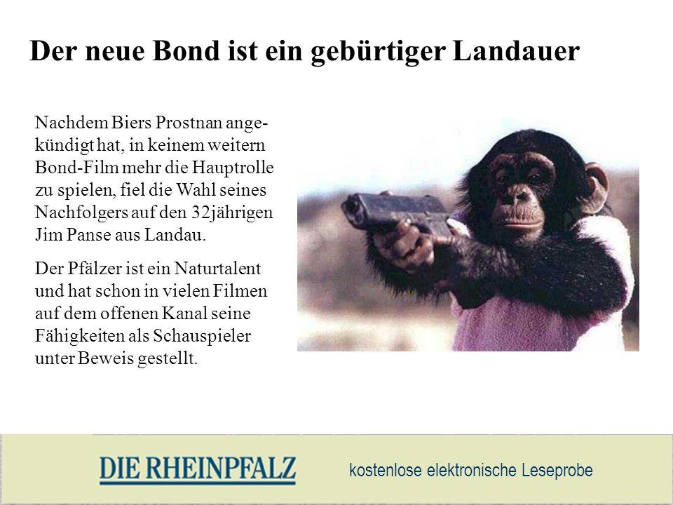 Der neue Bond ist ein gebürtiger Landauer