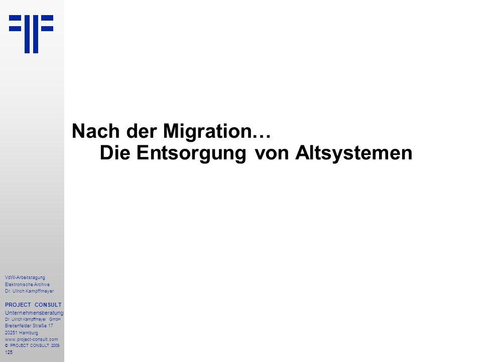 Nach der Migration… Die Entsorgung von Altsystemen