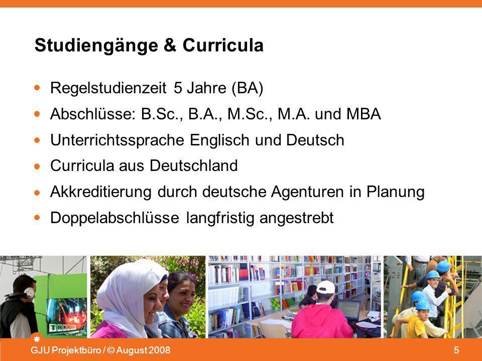 Studiengänge & Curricula