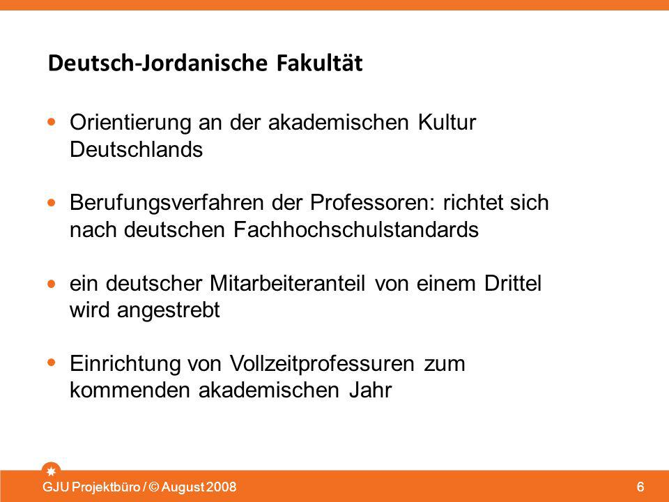 Deutsch-Jordanische Fakultät